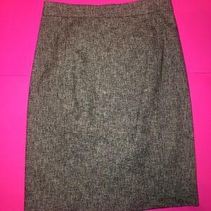 Ann Taylor - Pencil Grey Skirt size 4